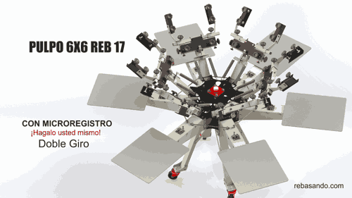 pulpo 6x6 reb17