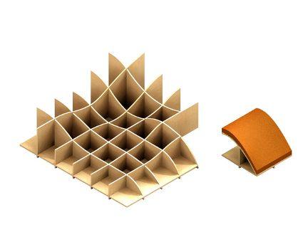 Aprenda con las ideas de fabricaci n de dise os - Muebles de carton ...