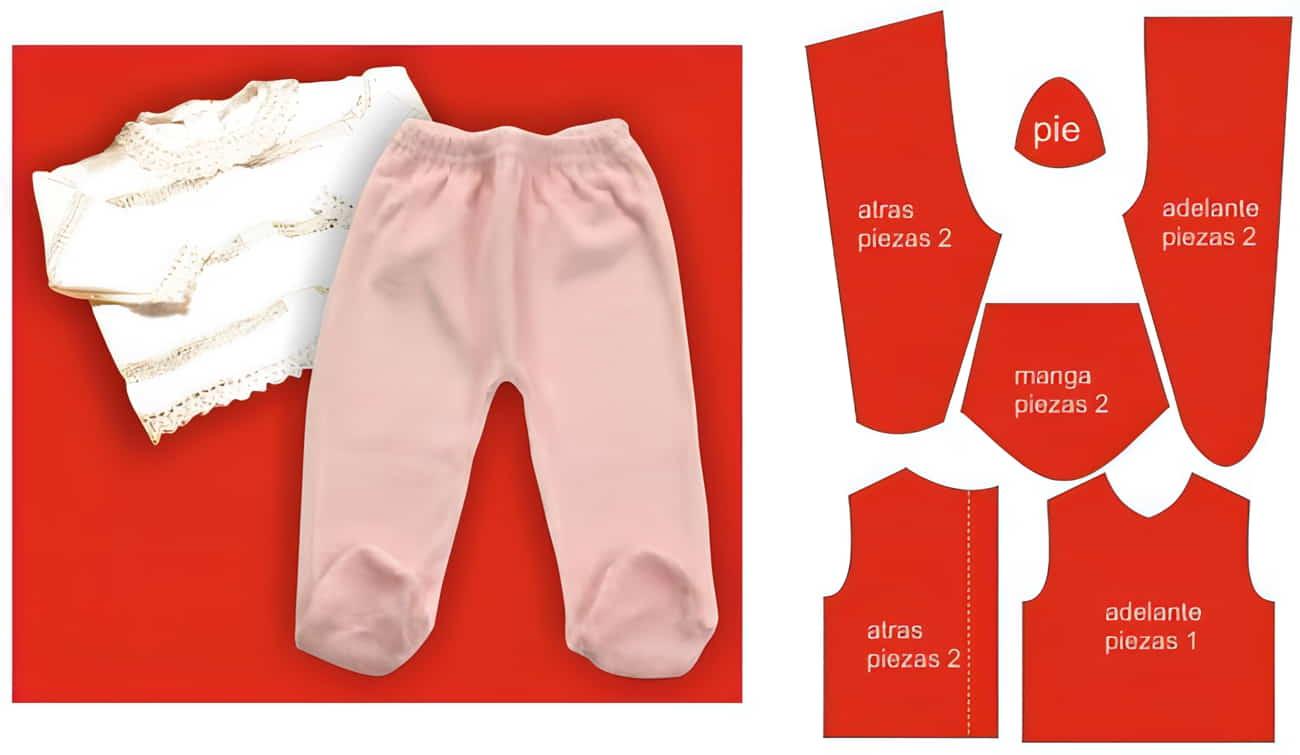 patrones de ropa de bebe